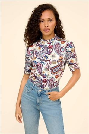 Orsay γυναικεία μπλούζα με all-over paisley print