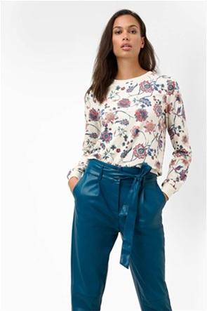Orsay γυναικεία μπλούζα φούτερ με floral print