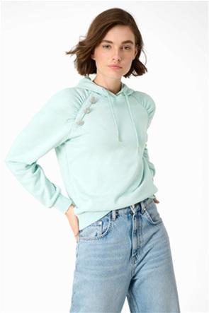 Orsay γυναικεία μπλούζα φούτερ με διακοσμητικές πέτρες