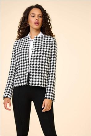 Orsay γυναικείο blazer με καρό σχέδιο Straight Cut