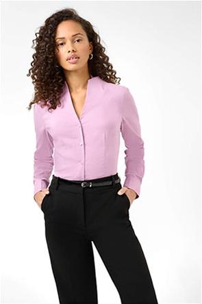Orsay γυναικείο πουκάμισο μονόχρωμο με ψηλό λαιμό