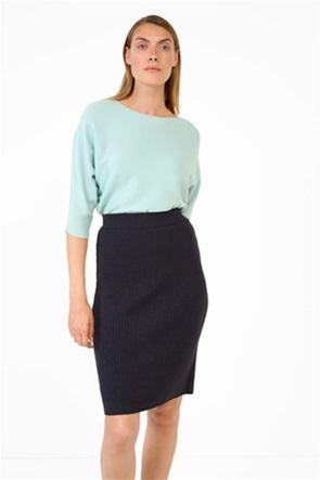 Orsay γυναικεία μπλούζα πλεκτή μονόχρωμη Loose Fit