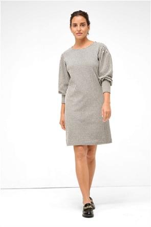 Orsay γυναικείο mini φόρεμα pied-de-poule