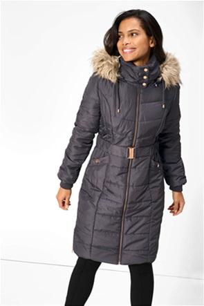 Orsay γυναικείο μπουφάν με καπιτονέ σχέδιο και κουκούλα