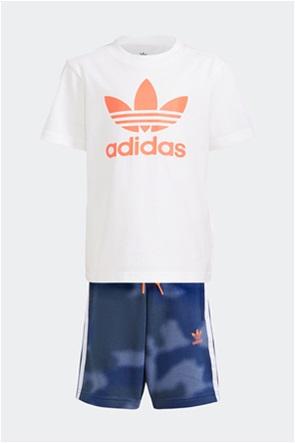 Adidas παιδικό αθλητικό σετ φόρμας με camo print