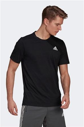 "Adidas ανδρικό αθλητικό T-shirt με logo print """"AEROREADY Designed 2-Move"""