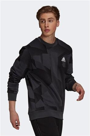 Adidas ανδρική μπλούζα φούτερ με graphic print