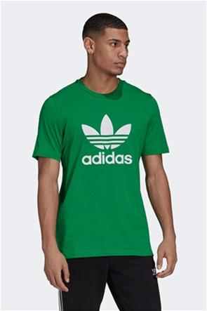 "Adidas ανδρικό αθλητικό T-shirt με logo print ""Adicolor Classics Trefoil"""