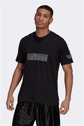 Adidas ανδρικό αθλητικό T-shirt με logo box