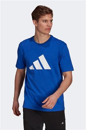 "Adidas ανδρικό αθλητικό T-shirt με graphic logo print ""Future Icons"""