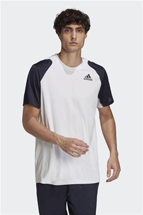 "Adidas ανδρικό αθλητικό T-shirt colourblocked ""Clun Tennis"""