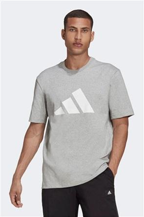 "Adidas ανδρικό T-shirt με logo print ""Sportswear Future Icons"""