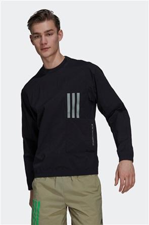 Adidas ανδρική φούτερ μπλούζα με απλικέ τσέπη ''X City''