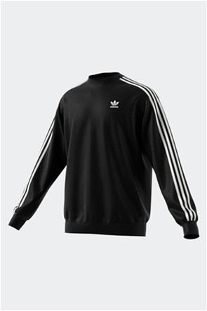 Adidas ανδρική φούτερ μπλούζα με κεντημένο λογότυπο ''3-Stripes''