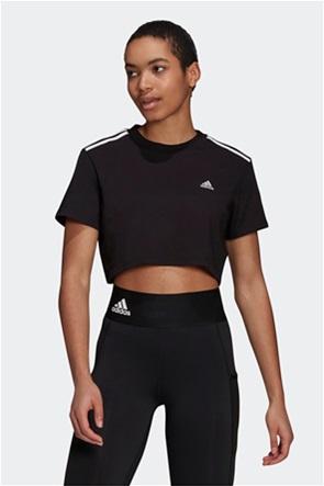 "Adidas γυναικείο t-shirt cropped ""Hyperglam"""