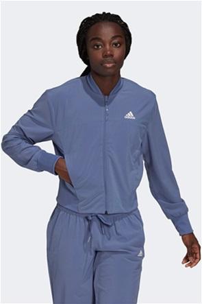 """Adidas γυναικείο αθλητικό μπουφάν cropped """" Aeroready """""""