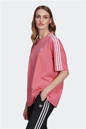 "Adidas γυναικείο T-shirt με logo print "" Adicolor Classics Oversize"""
