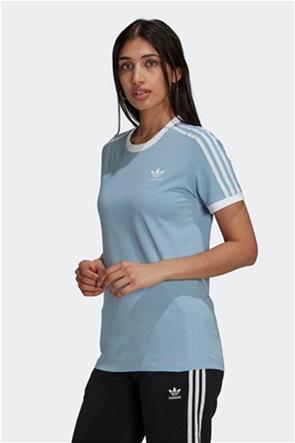 Adidas γυναικείο T-Shirt με κεντημένο λογότυπο ''Adicolor Classics 3 Stripes''