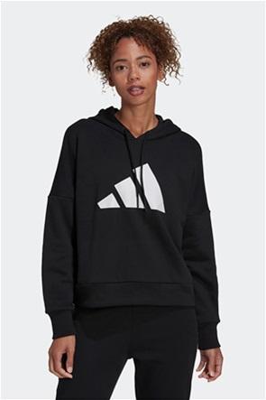 Adidas γυναικεία φούτερ μπλούζα με logo print ''Future Icons''