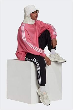 Adidas γυναικεία φούτερ μπλούζα oversized με κεντημένο λογότυπο ''Adicolor Classics''