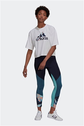 Adidas γυναικεία μπλούζα με logo print cropped ''You For You''