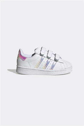 Adidas βρεφικά sneakers με Velcro ''Superstar''