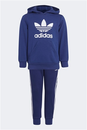Adidas παιδικό σετ ρούχων με φούτερ μπλούζα και παντελόνι φόρμας ''Adicolor''