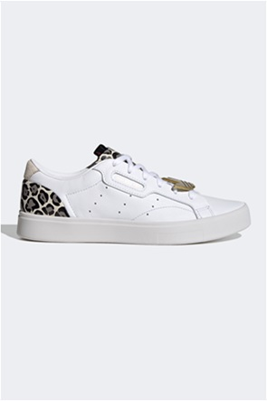 Adidas γυναικεία sneakers με animal print ''Sleek''