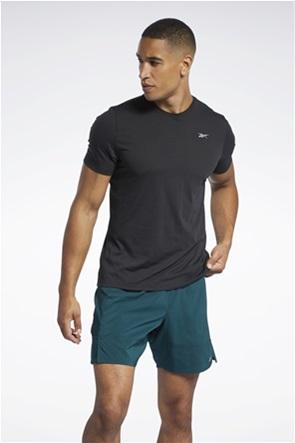 Reebok ανδρικό T-shirt με graphic print στο πίσω μέρος ''Run Essentials Speedwick''