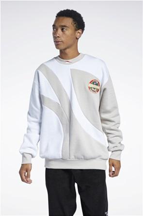 Reebok ανδρική φούτερ μπλούζα με κεντημένο λογότυπο ''Classics Vintage''