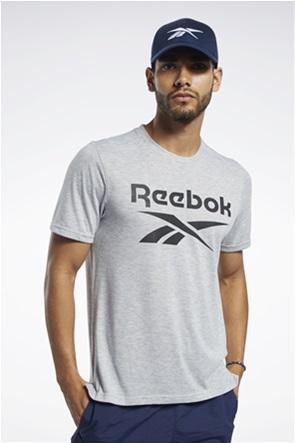 Reebok ανδρικό T-shirt με logo print ''Workout Ready Supremium''