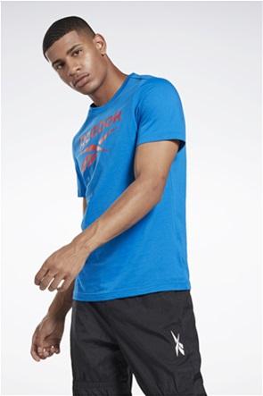 Reebok ανδρικό T-shirt με logo print ''Graphic Series''