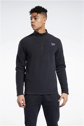 """Reebok ανδρική μπλούζα με 1/2 φερμουάρ """"Outerwear"""""""