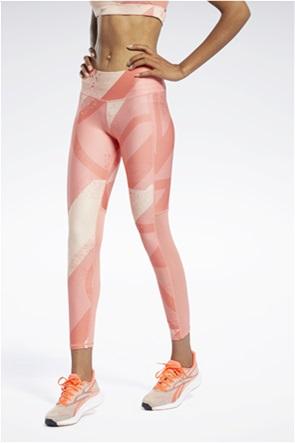 Reebok γυναικείο αθλητικό κολάν με all-over print ''Run Essentials''