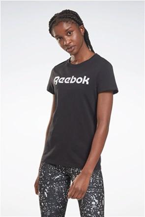 "Reebok γυναικείο T-shirt με logo print ""Training Essentials"""