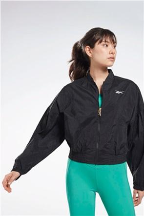 "Reebok γυναικείο Jacket με κεντημένο λογότυπο ""Studio Shiny"""