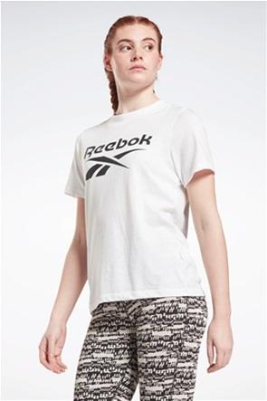 Reebok γυναικείο T-shirt με logo print ''Identity''