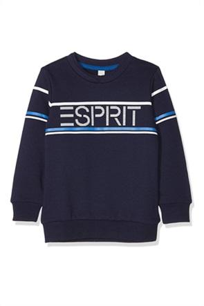 Esprit παιδική μπλούζα φούτερ με logo print (2-9 ετών)