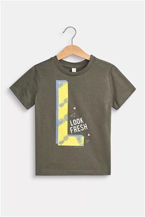 Esprit παιδικό Τ-Shirt με print (2-9 ετών)