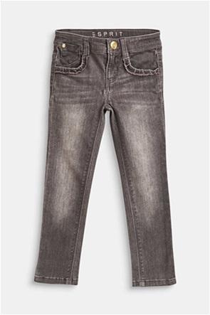 Esprit παιδικό τζην παντελόνι πεντάτσεπο με ξεβαματα