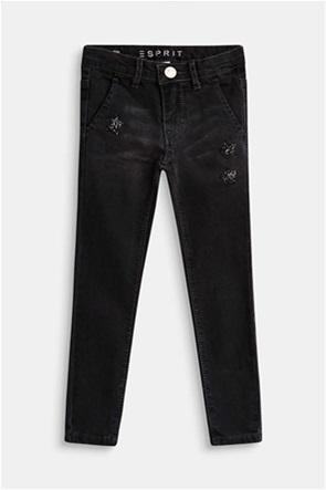 Esprit παιδικό τζην παντελόνι με αστέρια από glitter