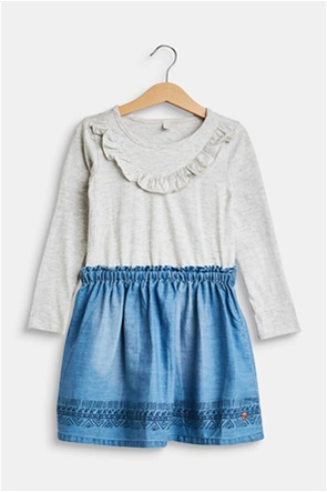 Esprit μακό φόρεμα με τζιν φούστα