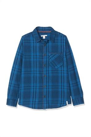 Esprit παιδικό πουκάμισο με καρό σχέδιο