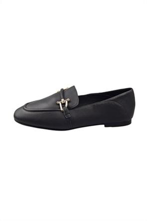"Clarks γυναικεία loafers με μεταλλική αγκραφα "" Pure"""