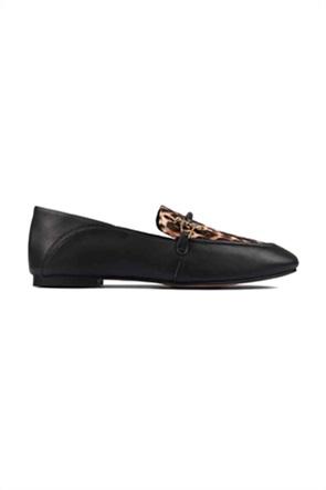 "Clarks γυναικεία loafers με μεταλλική αγκραφα "" Pure2"""