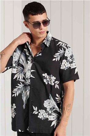 "Superdry ανδρικό πουκάμισο με floral print ""Hawaiian"""