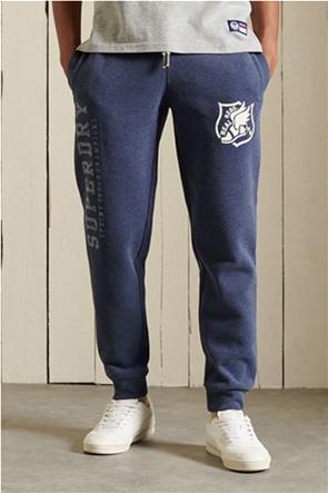 Superdry ανδρικό παντελόνι φόρμας με logo print ''Track & Field''