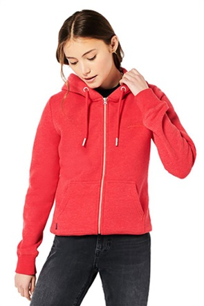 Superdry γυναικεία ζακέτα φούτερ με κουκούλα