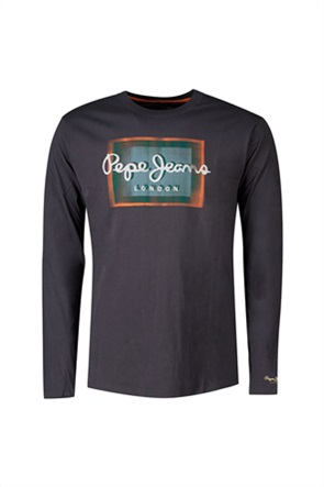 Pepe Jeans ανδρική μπλούζα με graffiti logo print ''Wesley''