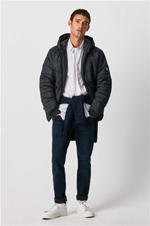 "Pepe Jeans ανδρικό μπουφάν καπιτονέ με κουκούλα ""Graham"""
